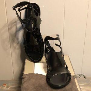 Patent Leather Gladiator Sandals